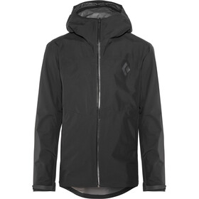 Black Diamond Liquid Point Chaqueta Shell Hombre, black